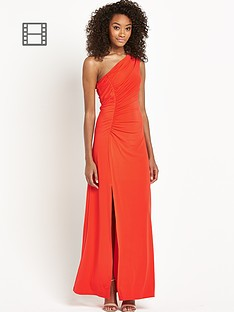 definitions-petite-one-shoulder-maxi-dress