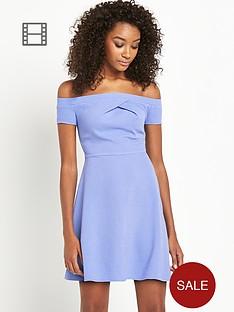 definitions-bardot-crepe-dress