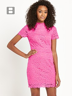 definitions-neon-lace-dress