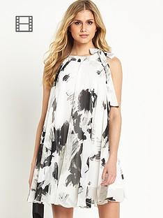 definitions-monochrome-print-swing-dress