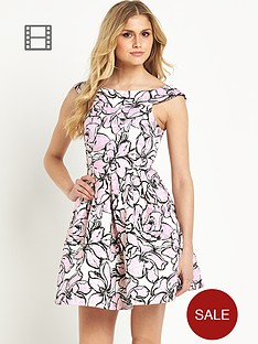 definitions-bardot-jacquard-prom-dress