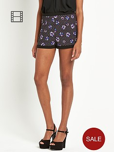 definitions-floral-printed-shorts