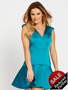 samantha-faiers-flippy-hem-dress