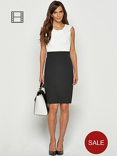 savoir-twist-neck-pencil-dress