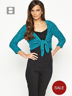 savoir-lightweight-sequin-tie-front-shrug