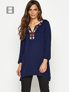 savoir-embellished-neck-tunic