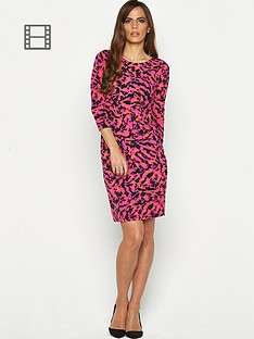savoir-petite-printed-ity-mid-length-dress