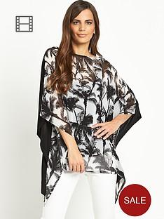 savoir-oversized-printed-blouse