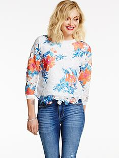 fearne-cotton-oriental-printed-lace-top