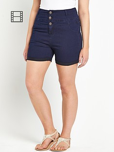 so-fabulous-high-waist-denim-shorts
