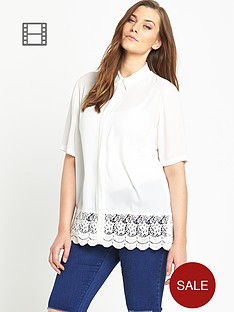 so-fabulous-crochet-lace-hem-shirt