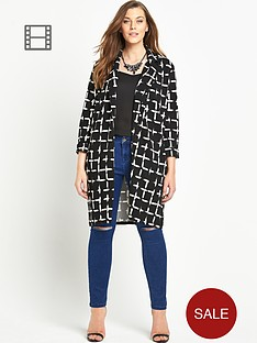 so-fabulous-check-crepe-jersey-duster-coat