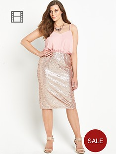 so-fabulous-sequin-skirt-cami-dress
