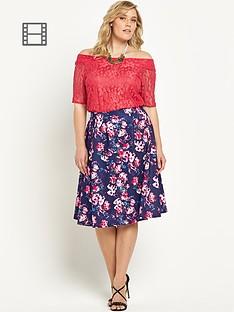 so-fabulous-floral-print-scuba-a-line-midi-skirt