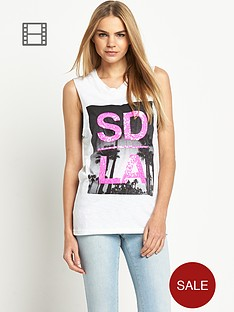 superdry-burn-out-beach-drop-armhole-tank-top