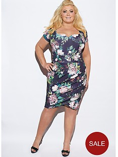 gemma-collins-venice-notch-neck-dress