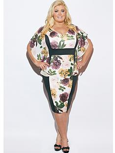 gemma-collins-paraguay-printed-dress