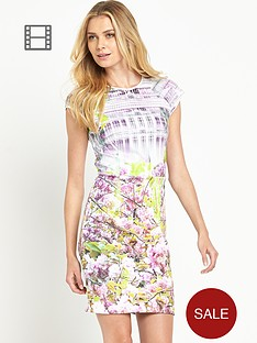 ted-baker-window-blossom-fitted-dress