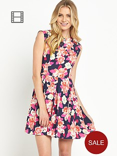 oasis-large-orchid-skater-dress