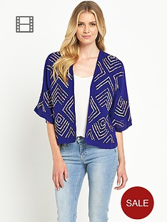 french-connection-confetti-grid-sequin-kimono