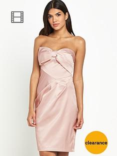 lipsy-vip-bow-bandeau-dress