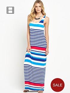 south-petite-striped-maxi-dress