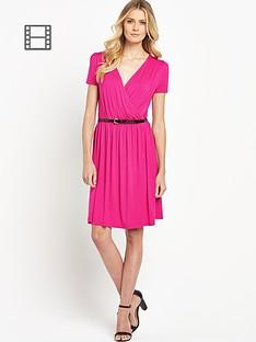 south-tall-wrap-front-tea-dress