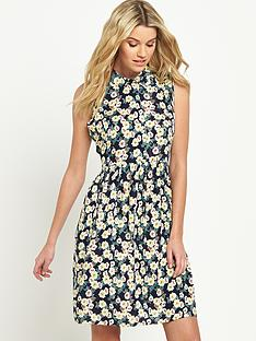 south-sleeveless-printed-shirt-dress