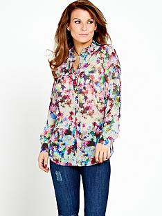 coleen-ditsy-printed-shirt-with-pleat-detail