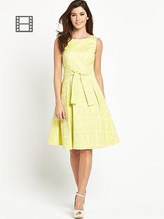 berkertex-jacquard-bow-front-prom-dress