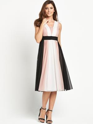 Elegant  Occasion Chiffon Dress Code N A Our Plunge V Neck Occasion Dresses Are