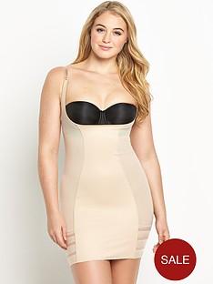 intimates-control-stripe-mesh-wear-your-own-bra-slip
