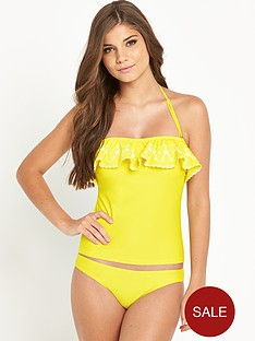 resort-frill-embroidered-tankini-set