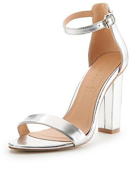 shoe-box-daisy-block-heeled-two-part-sandals-silver