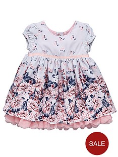 ladybird-baby-girls-border-print-dress
