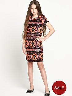 freespirit-girls-sequin-aztec-dress-5-16-years