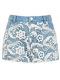 freespirit-girls-denim-crochet-panel-shorts-5-16-years