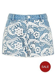 freespirit-girls-denim-crochet-panel-shorts-5-16-years