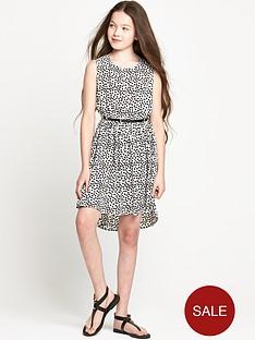 freespirit-girls-heart-print-dress-with-belt