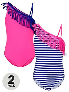 freespirit-girls-tassel-swimsuit-2-pack
