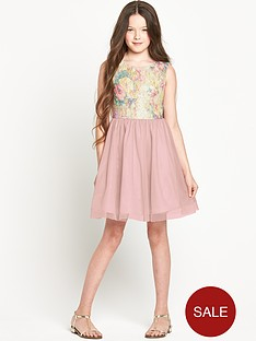 freespirit-girls-floral-print-sequin-bodice-tutu-dress