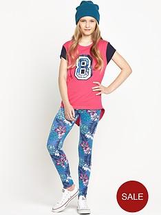 freespirit-girls-hawaii-baseball-top-and-leggings-set-2-piece
