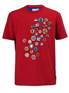 ben-sherman-button-print-t-shirt