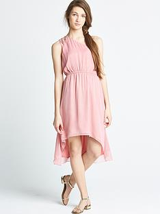 little-misdress-one-shoulder-dip-hem-dress