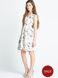 little-misdress-floral-flare-dress