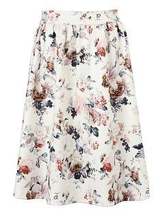 little-misdress-floral-flare-skirt
