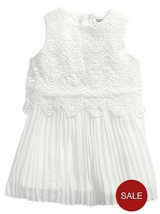 mamas-papas-cream-lace-dress