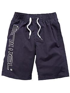 animal-logo-swim-shorts