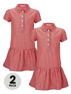top-class-girls-dropped-waist-summer-dresses-2-pack