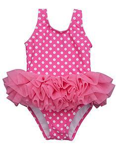 ladybird-baby-girls-pink-spot-tutu-swimsuit